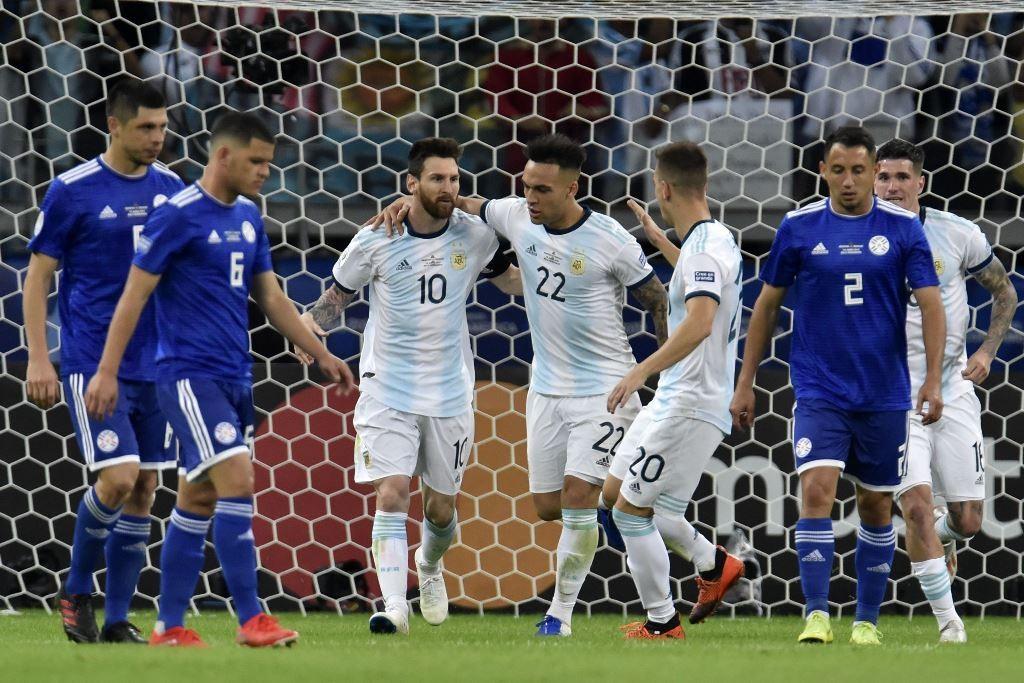 Argentina Kontra Paraguay