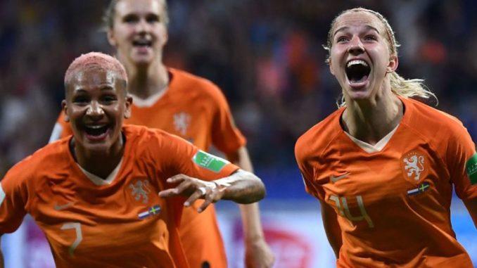 Menaklukkan Swedia, Belanda Melenggang Menuju Babak Final Piala Dunia Sepakbola Wanita 2019