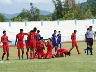 Keberhasilan Timnas U-15 Pada Klasemen Grup A