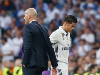 Keinginan Zidane Untuk Pertahankan James Rodriguez di Real Madrid